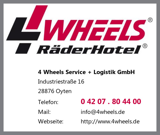 4 Wheels Service + Logistik GmbH