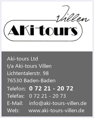 AKI-tours Ltd. AKI-tours Villen