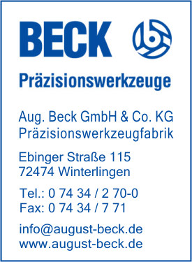 Beck GmbH & Co. KG., August