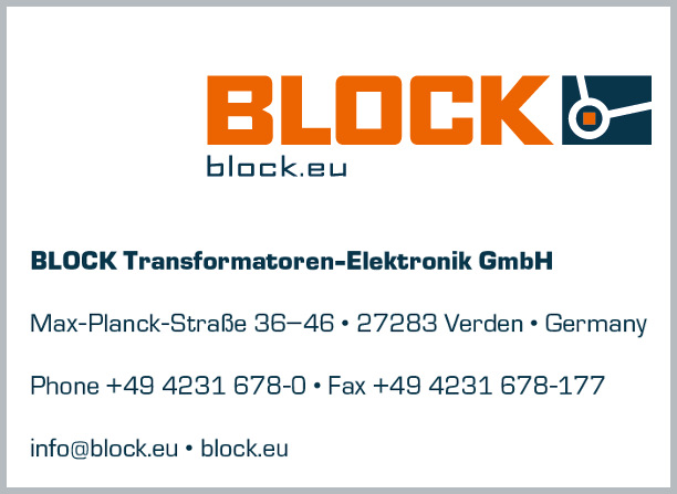 BLOCK Transformatoren-Elektronik GmbH